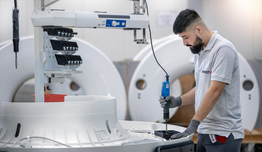 Endgeräte-Montage Medizintechnik