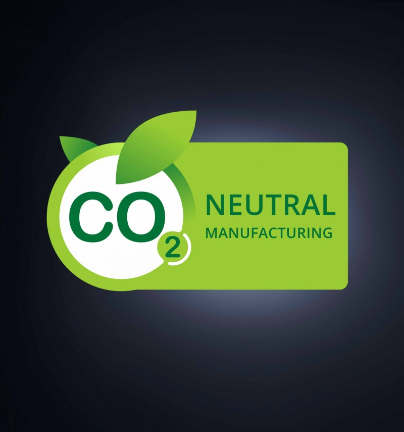 CO2 neutral manufacturing