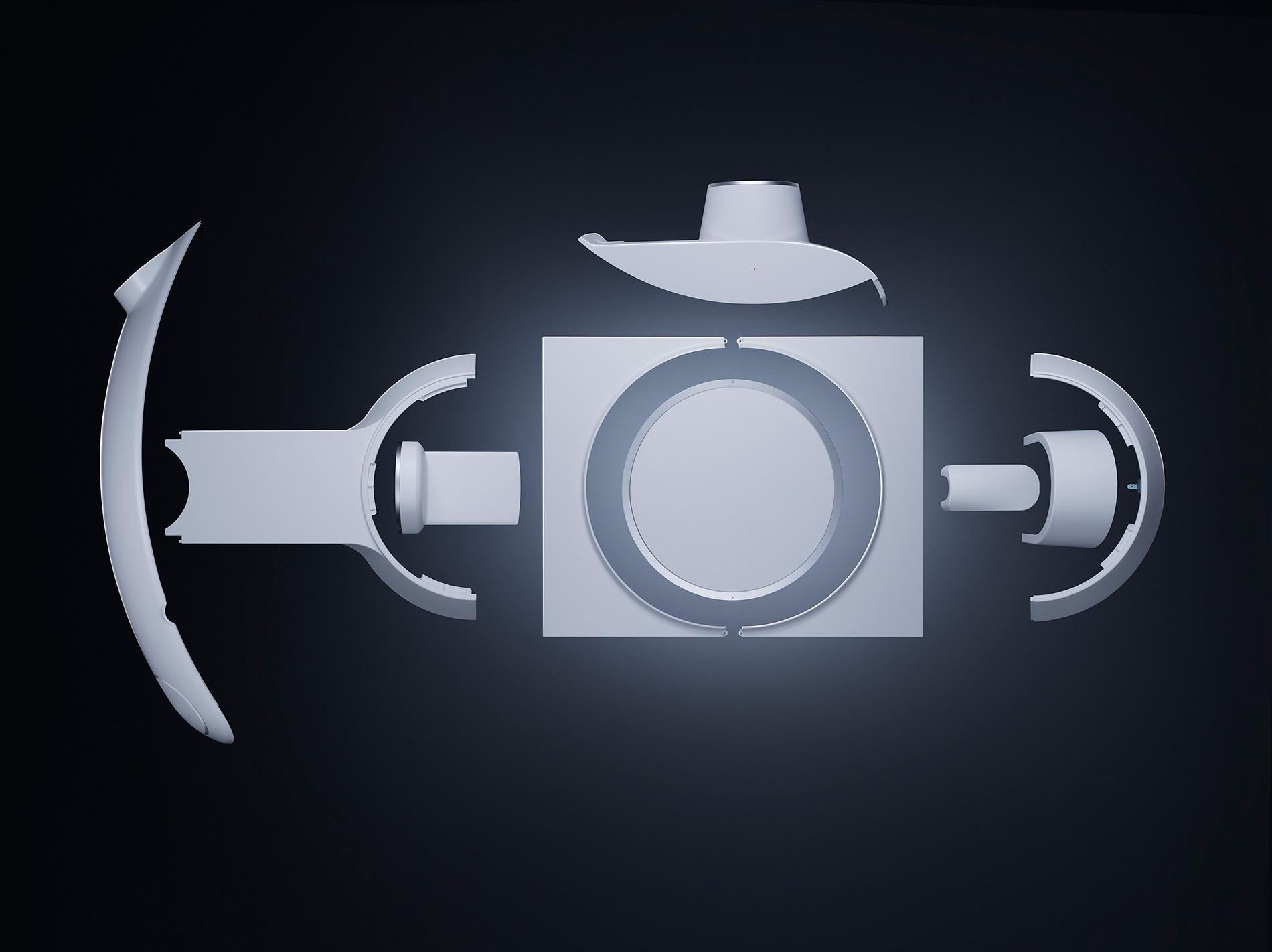 Für das 3D-Röntgengerät mit Flexarm fertigt und liefert Fried Kunststofftechnik die Gehäuseteile für sämtliche C-Bögen.