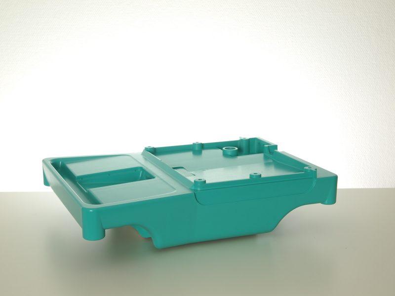 Fried Kunststofftechnik verwendet das TSG-Spritzguss Verfahren insbesondere für die Herstellung von großvolumigen Teilen.