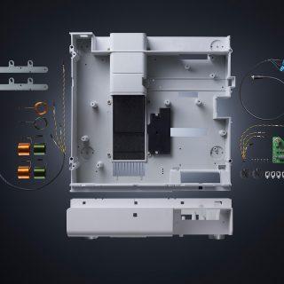 Egal, ob innerhalb oder außerhalb des Fertigungsprozesses, Fried Kunststofftechnik übernimmt die Montage von zusätzlichen Bauteilen.