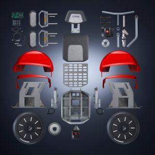 Der Freee F2 ist ein intuitiv zu bedienender Elektro-Geländerollstuhl auf Segway-Basis. Er verhilft Menschen mit Paraplegie und Gehbehinderung zu einer ganz neuen Beweglichkeit.