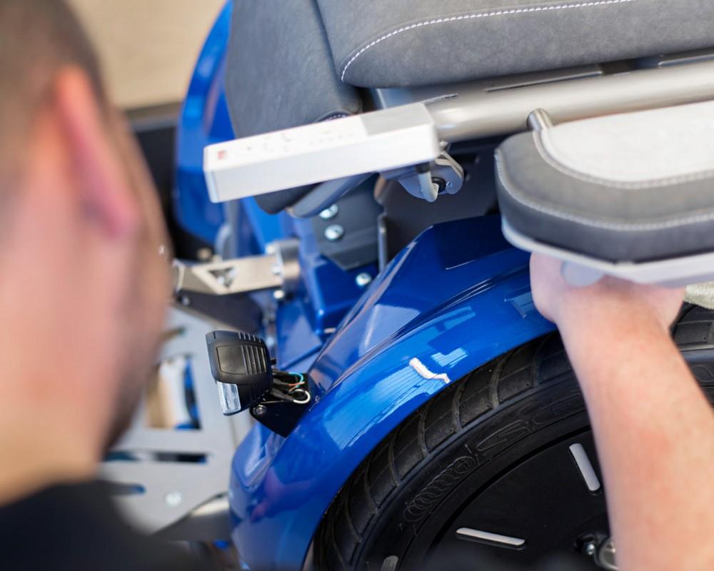 Für die Firma Freee Mobility erfolgt die ganze Produktion von der Komponentenbeschaffung bis zur Komplettmontage des Endproduktes am Standort Urbach.